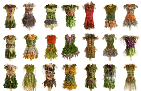 composite of 21 dresses